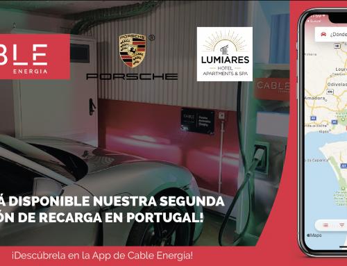 Ya está operativo en Lisboa el segundo cargador de la colaboración entre Cable Energía y Porsche