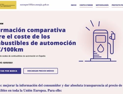 """""""Euros por cada 100 kilómetros"""" la web oficial que compara el coste de los combustibles"""