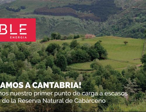 ¡Llevamos la movilidad eléctrica a Cantabria!