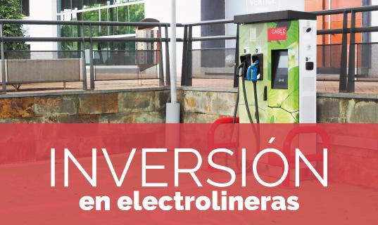 Inversion en electrolineras