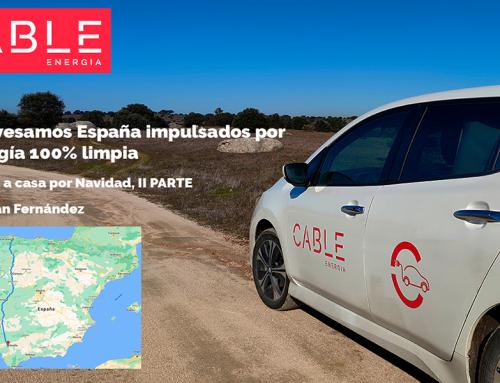 Crossing Spain powered by 100% clean energy