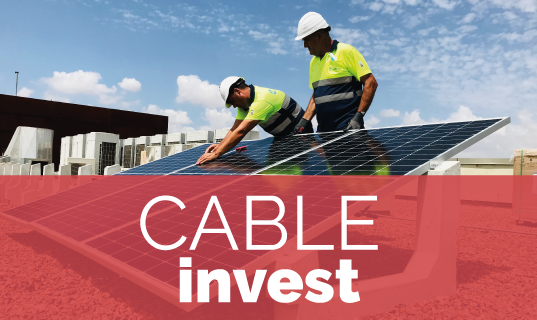 Cable invests in you
