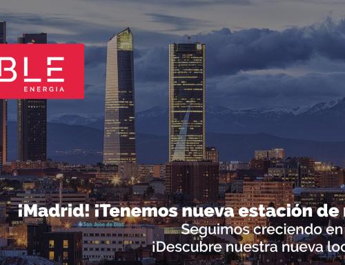 ¡Madrid! ¡Tenemos nueva estación de recarga!