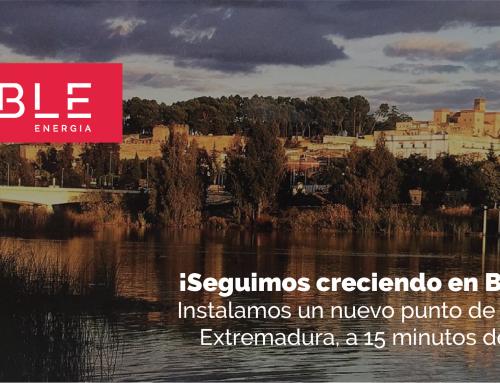 Instalamos un nuevo punto de carga en Badajoz