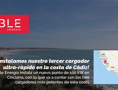 ¡Instalamos nuestro tercer cargador ultra rápido en la provincia de Cádiz!