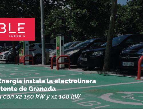 Cable instala la electrolinera más potente de Granada