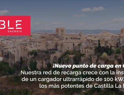 ¡Nuevo punto de carga en Cuenca!