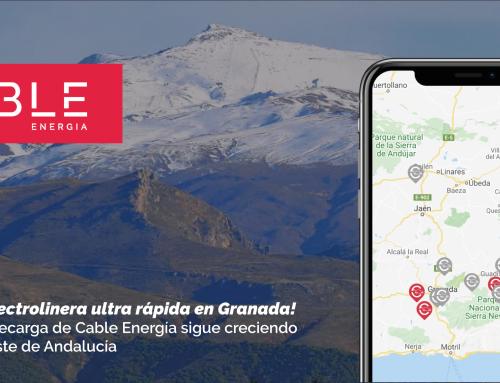 La red de recarga de Cable continúa creciendo en el sur este de España
