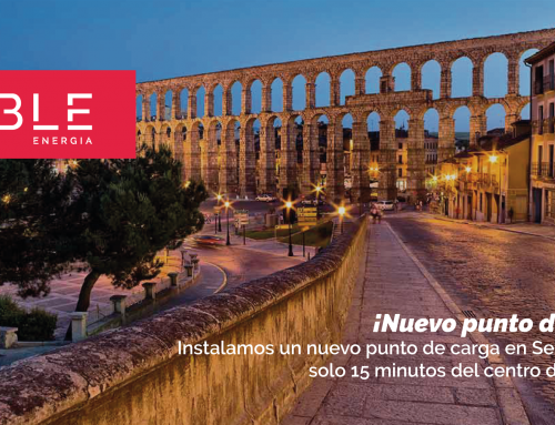¡Nuevo punto de carga en Segovia!